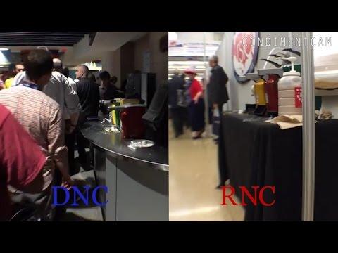 Condiment Cam: RNC vs. DNC