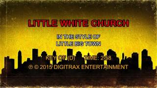 Little Big Town - Little White Church (Backing Track)