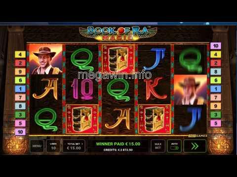 Book Of Ra Magic Bonus Game Of 15 EUR X333