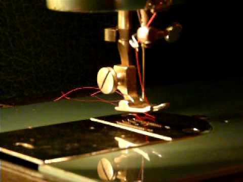 SUPER RETRO MORSE FOTOMATIC SEWING MACHINE YouTube Inspiration Morse 4400 Sewing Machine