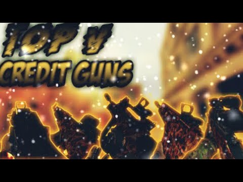 [Bullet Force] Top 5 guns available for credits
