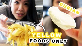 i-only-ate-yellow-foods-for-24-hours