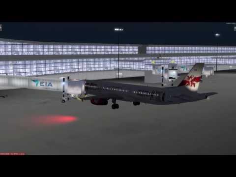 Airbus A321-231 Edmonton (CYEG) to Denver (KDEN) P3D v3.4