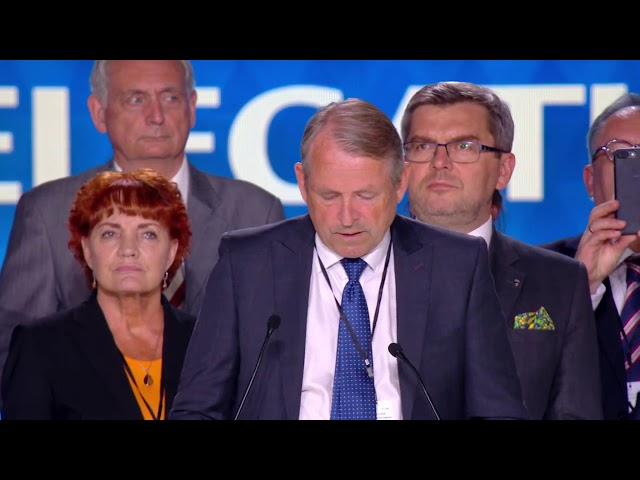 Lars Rise speech at #FreeIran2018 Rally in Paris 30 June 2018
