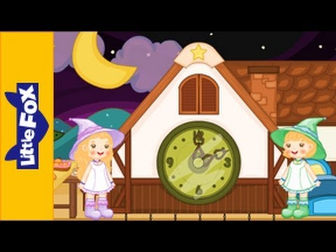 Round the Clock | Song for Kids by Little Fox