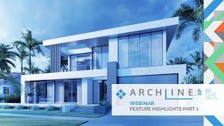 ARCHLine.XP 2021 Feature Highlights - Part 1