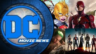 Wonder Woman in Flashpoint,  Joker Film Moves Forward and More - DC Movie News