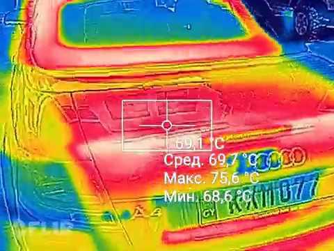 в какой машине жарче. цвет авто и температура