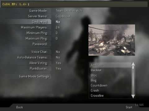 How to add bots on call of duty 4