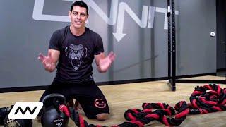 Video How to Set Up Battle Ropes for Your Gym download MP3, 3GP, MP4, WEBM, AVI, FLV September 2018