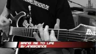 Evanescence - Bring Me To Life - (Guitar Cover) - Stahlverbieger