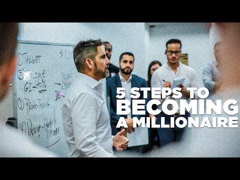5 Steps to Becoming a Millionaire - Grant Cardone Trains His