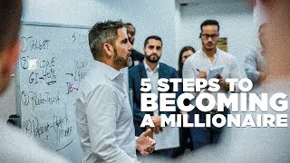 5 Steps to Bec๐ming a Millionaire - Grant Cardone Trains His Sales Team LIVE