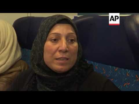 Syrian family travel in Germany, share fears