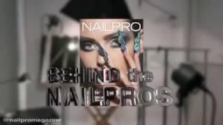 Backstage: ногти для обложки журнала NAILPRO (May 2017)