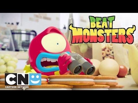Chutes en folie | Beat Monsters | Cartoon Network