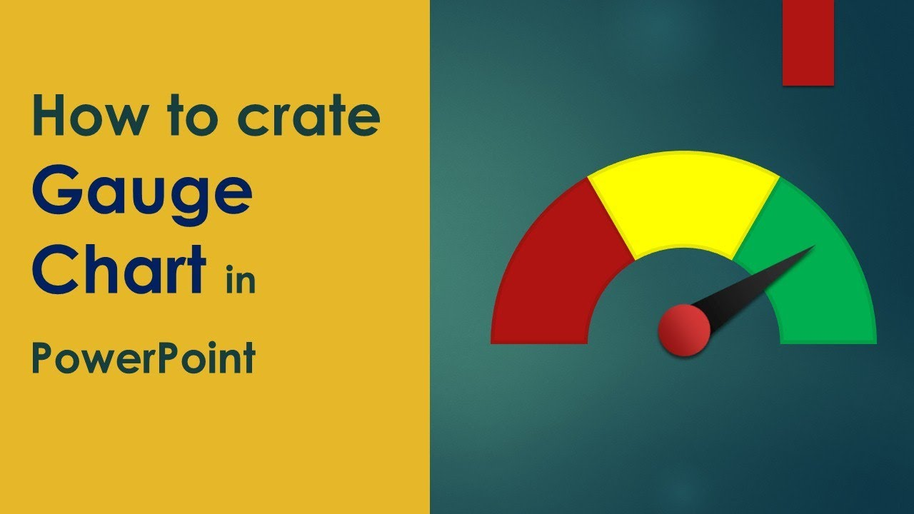 learn how to create gauge chart in powerpoint - youtube, Powerpoint templates