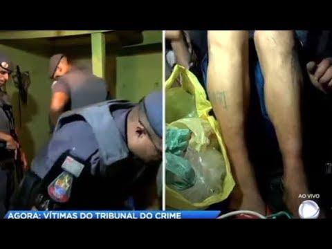 Polícia resgata homens condenados pelo tribunal do crime