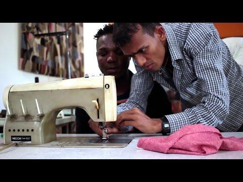 Lai-momo x ITC Ethical Fashion Initiative: Training Centre for Asylum Seekers & Migrants