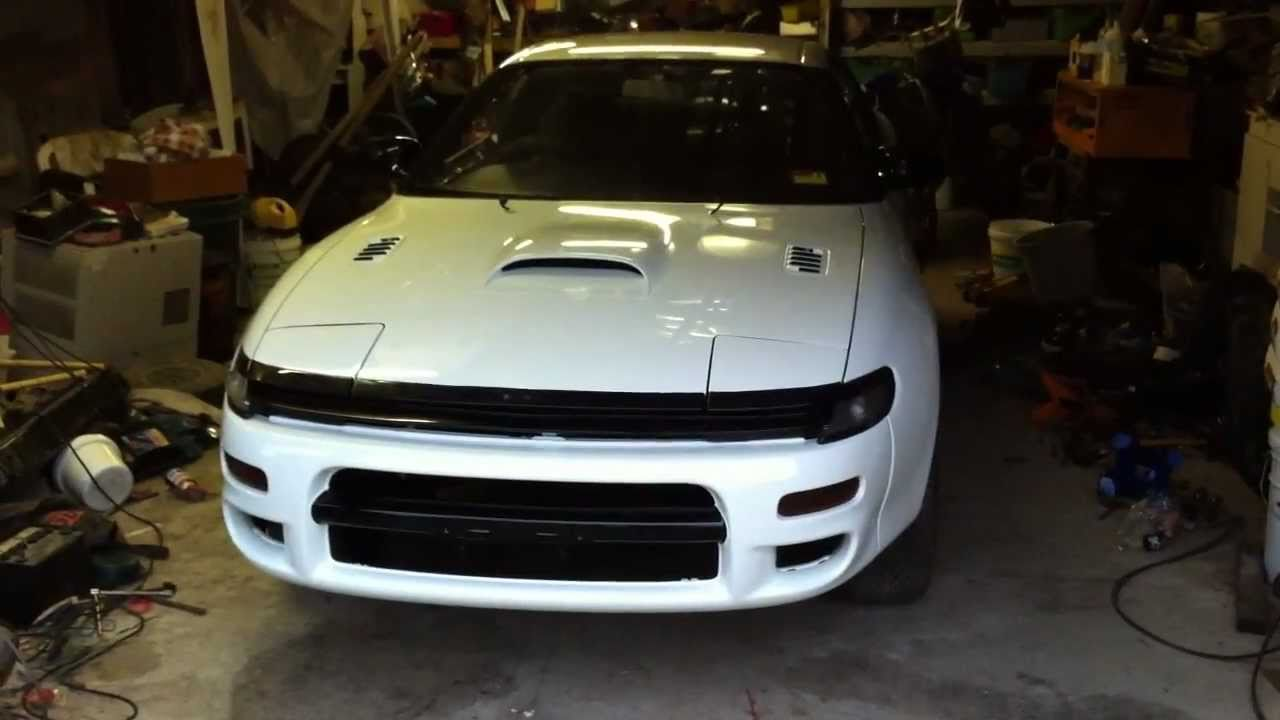 Toyota Celica ST185 GT4 painted - YouTube
