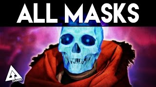 Destiny Festival of the Lost  ALL MASKS | Halloween Event