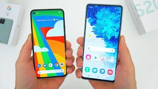 Google Pixel 5 vs. Samsung Galaxy S20 FE Comparison! Which Is Better?