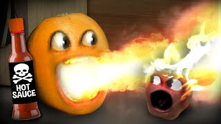 Annoying Orange - Breathing Fire Supercut!!!