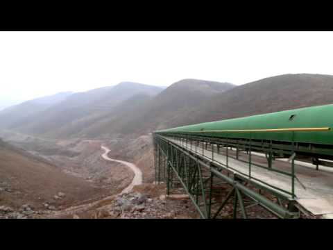 VLT drives move 10.5 km long limestone belt conveyor using m