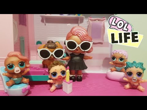 LOL Life! LOL Dolls Stop Motion Miniseries Ep 6 - LOL Genie Grants Wishes!