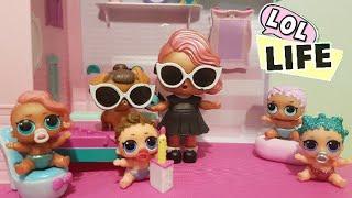 LOL Life! LOL Dolls Stop Motion Miniseries Ep 6 - LOL Genie Grants Wishes!