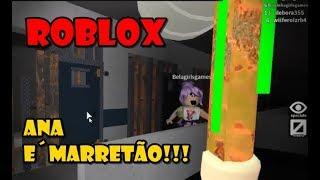 ROBLOX - Bela corre! Ana é a Fera e vai Te pegar (huir de la instalación)