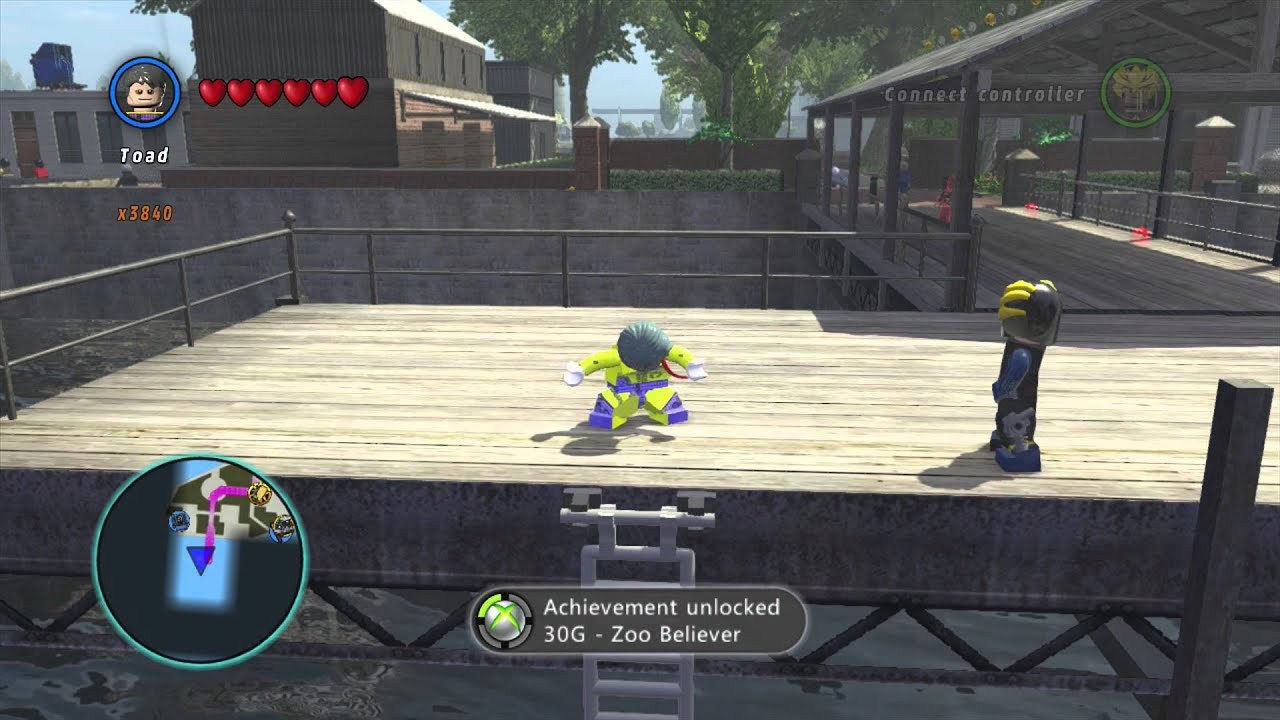 LEGO Marvel Superheroes - Toad Gameplay and Unlock ...