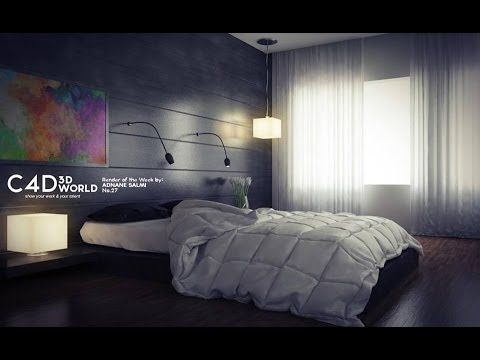 Cinema 4d tutorial vray lighting render settings and for Vray interior lighting rendering tutorial