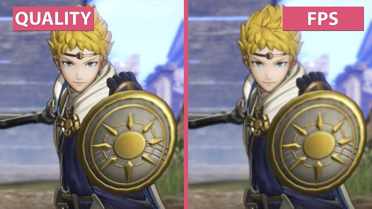 Fire Emblem Warriors Performance Vs Quality Mode Switch