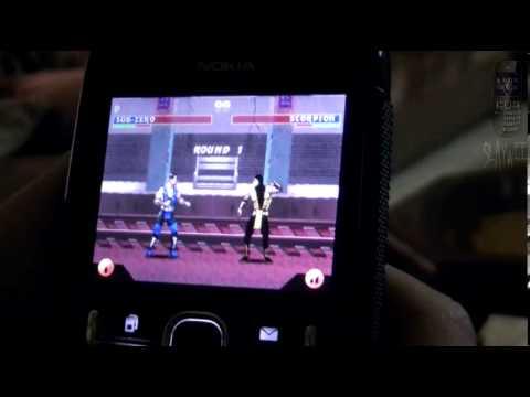 Nokia Asha 200 Mortal Kombat 3 java game