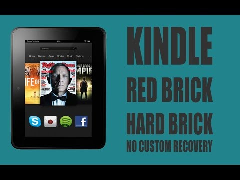 How To Fix Kindle Red Brick Hard Brick Without Custom Recovery | RC Films