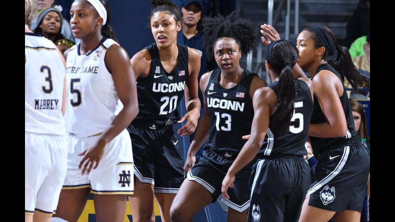 10778770983 Women s Basketball Highlights -  2 UConn 89