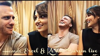 Hande Ercel & Kerem Bursin live 4 English subtitles