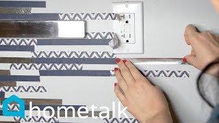 Renter Backsplash idea | Totally transform your backsplash for under $25! | Hometalk