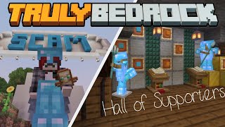 Scams and a Place of Honor! Truly Bedrock SMP | Season 1