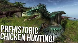 theHunter Primal - Jurassic Dinosaur Hunting Survival Game - Gameplay Highlights