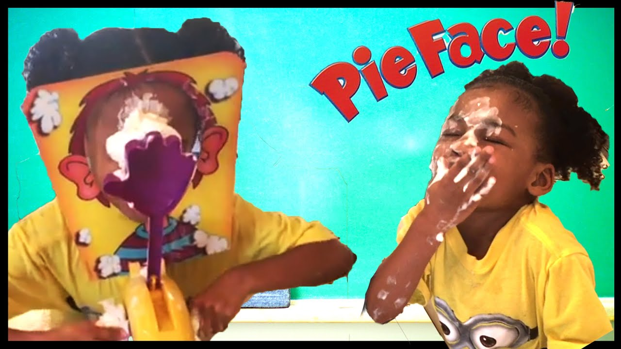 Pie face game and giant egg surprise toys family fun game with pie face game and giant egg surprise toys family fun game with naiah elli youtube solutioingenieria Gallery
