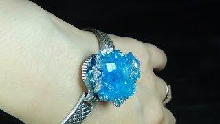 Borakstan Kristal ile Mücevherat Yapımı | Crystal Jewerly Out Of Borax