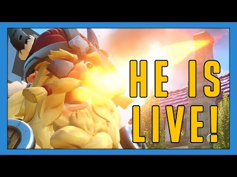Moltenload (Torb) Is Live In Comp! - Seagull - Overwatch