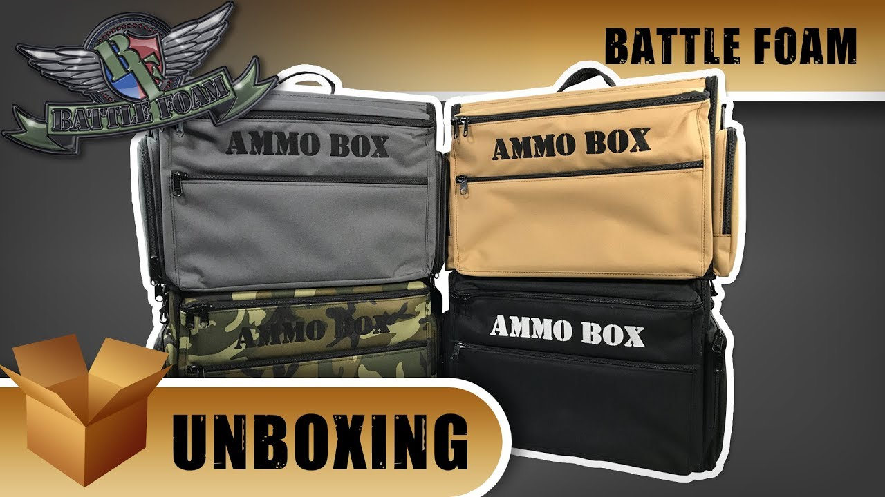 Battle Foam Unboxing Ammo Box Bag Youtube The battlefoam yuan yuan is probably the rarest of all the limited editions. battle foam unboxing ammo box bag