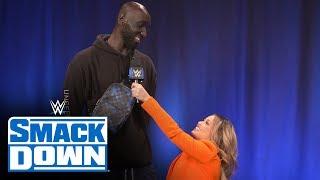 Boston Celtics' Tacko Fall is a HUGE John Cena fan: SmackDown Exclusive, Feb. 28, 2020