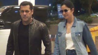 Salman Khan & Katrina Kaif Spotted At Mumbai Airport  | Da-bangg Tour 2019
