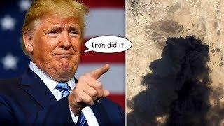 Trump Threatens Iran, Then Says He'd