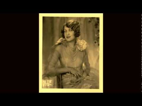 """I Never Dreamt""  Ruth Etting (Personal Record) Columbia 2216-D  1930"
