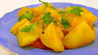 Вкуснейшая картошка в казанке Готовим вместе с Аней